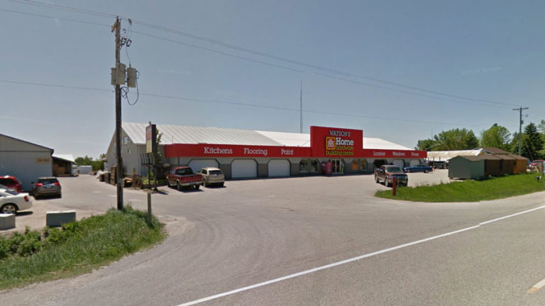 Exterior picture of Watsosn Home Hardware in Gorrie, ON